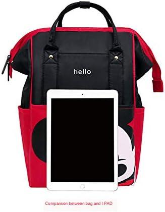 Craftsboys Bolsa de Pa/ñales Mochila Maternidad Maternidad//Pa/ñales Bolsa de Beb/é de Viaje de la Bolsa de Cuidado del Beb/é rojo A