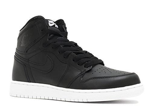 Cheap Jordan Air 1 Retro High OG BG Big Kid's Shoes Black/White 575441-006 (6 M US)