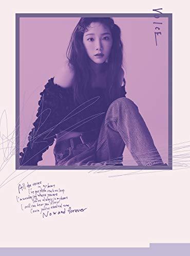 태연 VOICE(첫 한정반B Visual Edition) CD+DVD,한정판