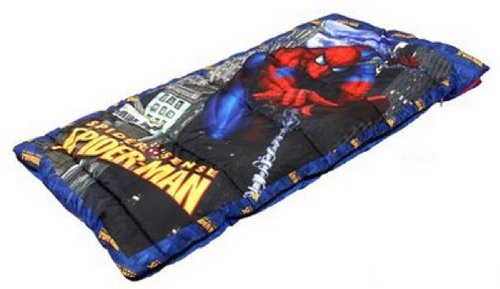 Marvel Spider Sense Spider-man Camping Slumber Sleeping Bag ()