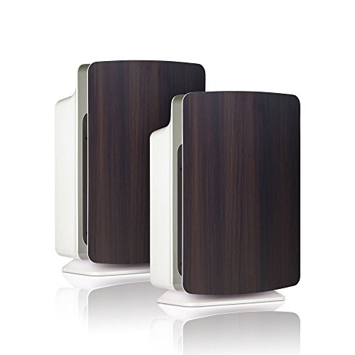 Alen-BreatheSmart-FIT50-Customizable-Air-Purifier-with-2-HEPA-Pure-Filter-for-Allergies-and-Dust-Espresso-Smart-Bundle-Pure-2-Pack