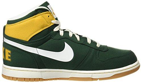 Nike 854165, Scarpe da Ginnastica Basse Uomo Multicolore (Verde / Blanco)