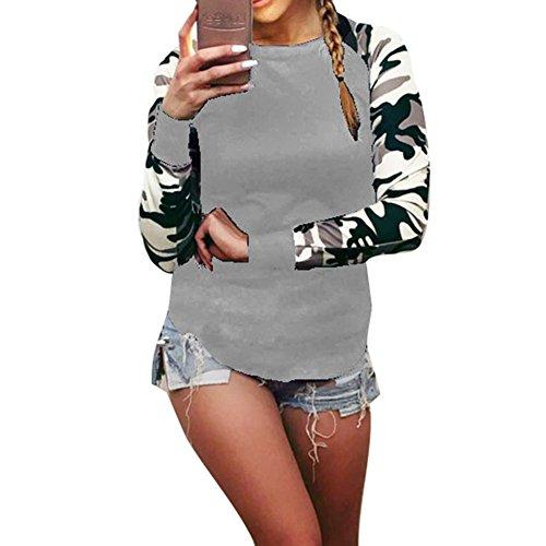 Gris Tops Rond L Quotidien Taille Manches Vert Dcontracte Automne Femmes Hiver piss Yuxin Gris Col Noir Camouflage Hoodies Rouge Pullover Chemises Longues Travail 5XL Blanc Blouses Plus Tshirts SSTpqxnvrw