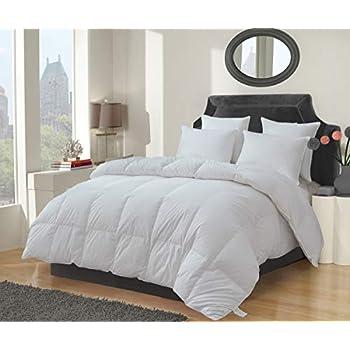 Amazon Com Eastwarmth Goose Down Feather Comforter Duvet
