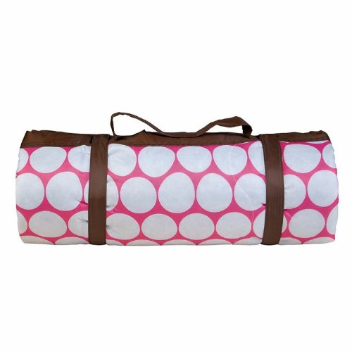 Wildkin Pink and White Big Dot Picnic Blanket, One Size