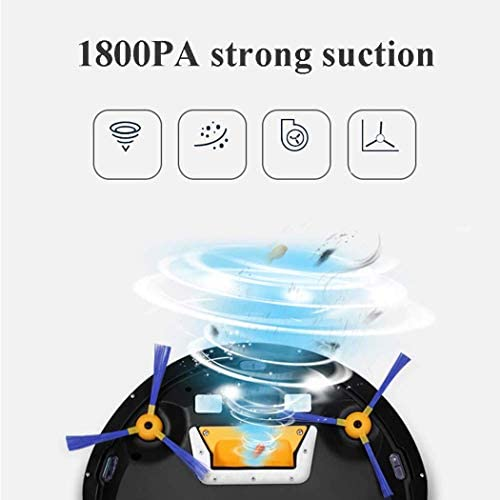 8bayfa Trois-en-Un Robot de Balayage 2000mAh Grande capacité Aspirateur Gyro Navigation entièrement Automatique Nettoyage Robot