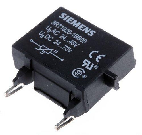 S0 Size Siemens 3RT19 26-1BB00 Surge Suppressor 24-48VAC Rated Control Supply Voltage 3RT19261BB00 Varistor Design