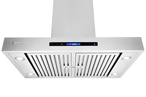XtremeAir Pro-X Series PX06-I36, 36'' Wide, Easy Clean swing-able baffle Filters, Stainless Steel, Island Mount Range Hood by XtremeAIR (Image #3)