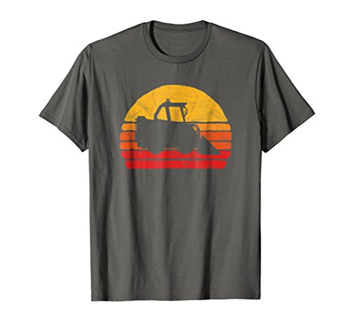 Retro Skid Steer Loader Shirt - Vintage Construction Work T