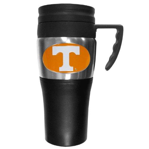 (College NCAA Tennessee Volunteers Steel Travel Mug with Handle)