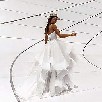 Vestido de Novia Vestidos de Novia sin Mangas Vestido de Novia de ...