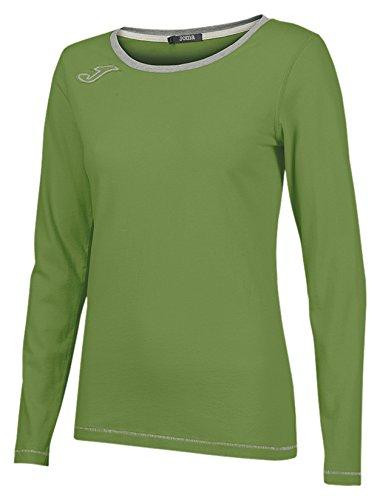 TALLA XS. Joma Camiseta Invictus Green L/L Fashion Camiseta Deportiva para Mujer