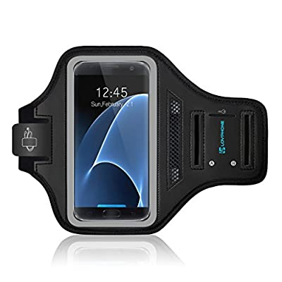 iPhone X Armband - LOVPHONE Sport Running Exercise Gym Sportband Case for iPhone X, with Key Holder & Card Slot,Water Resistant and Sweat-proof