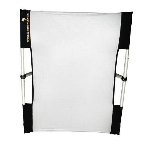 California Sunbounce Micro Mini 2 x 3 Feet Kit - Reflector Panel Kit with Frame and Carry Bag-Silver/White by California Sunbounce