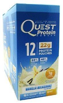Quest Prot Pcket Van Mlk Size .99z Quest Protein Packet Vanilla Milkshake .99z