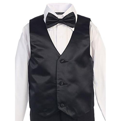 a16ff1ac03dbe Bello Giovane Boy Black Formal Tuxedo No Tail (Free Fedora   Size 3 to 10