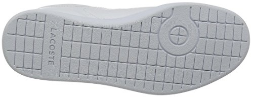 Lacoste Carnaby Evo G316 8 - Zapatillas Mujer Weiß (Wht/Red 286)