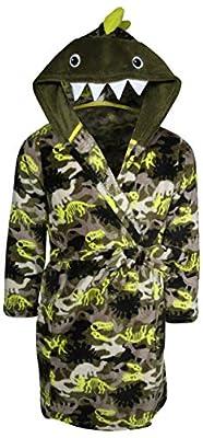 Only Boys PlushFleece Animal Character Hooded Robe
