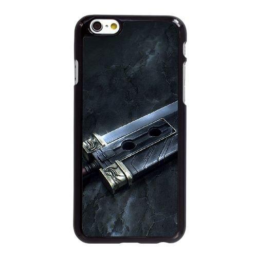 Buster Sword J9N86W7XJ coque iPhone 6 6S 4.7 Inch case coque black 0N015A
