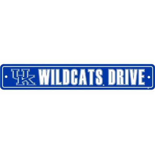 Flagpole To Go NCAA Kentucky Wildcats Street Sign]()