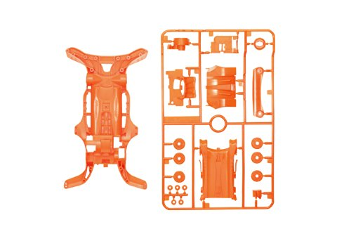 AR蛍光カラーシャーシセット (オレンジ) 「ミニ四駆限定」 [95028]の商品画像