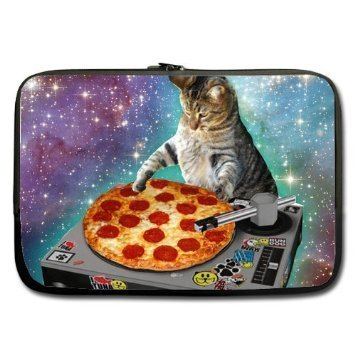 deardaling-food-funny-dj-cat-galaxy-pizza-cat-custom-laptop-sleeve-case-15-inch-notebook-laptoptwin-
