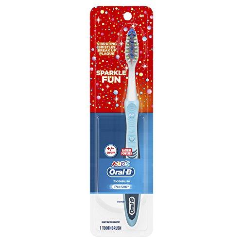 Kid's Oral-B Sparkle Fun Pulsar Manual Toothbrush, 1 Count