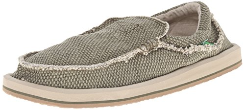 Sanuk Mens M Chiba Slip-on Loafer Oliv