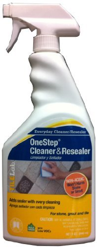 Custom Building Products TileLab Grout & Tile Cleaner and Resealer, 32 fl. oz.(946 ml) by Custom Building Products