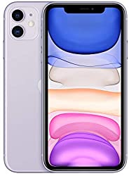 Apple iPhone 11 (128GB, Purple) [Locked] + Carrier Subscription