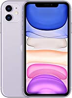 Apple iPhone 11 (256GB, Purple) [Carrier Locked] + Carrier Subscription [Cricket Wireless] ($10/Month Amazon Gift Card...