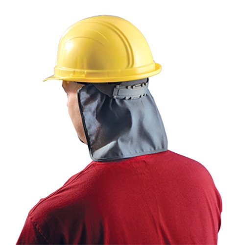 12PCK-Miracool FR Hard Hat Pad w/Shade HRC 1 - Re-Usable 100's of times - GRAY by Occunomix