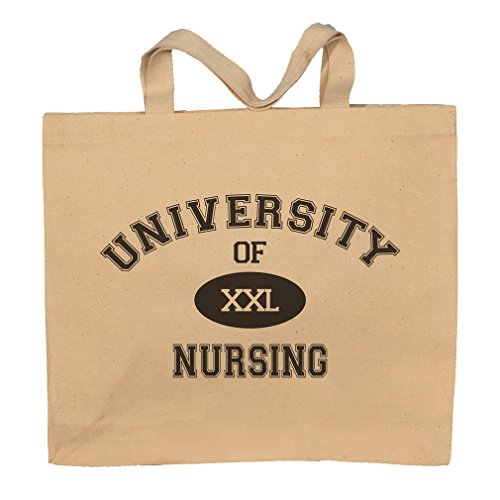 University Of XXL Nursing Totebag Bag by T-ShirtFrenzy