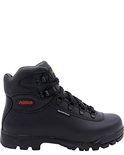 Asolo Mens Skyriser/Sunrise/Supremacy/Welt High Hiker Boot,Black/Red/Style Sunrise Boot,10 ()