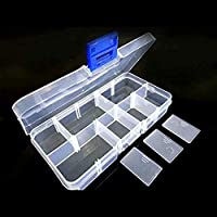 Caja de almacenamiento con 10 contenedores extraíbles peque?os