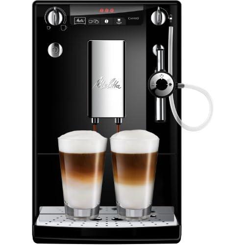 chollos oferta descuentos barato Melitta Caffeo Solo Perfect Milk E957 101 Cafetera Automática Espumador Automático un Sólo Toque 1 2 Litros Negro
