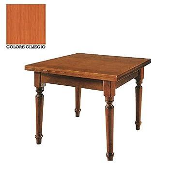 Sie Italien Tisch Holz Massiv Quadratisch Ausziehbar 100x100 200cm