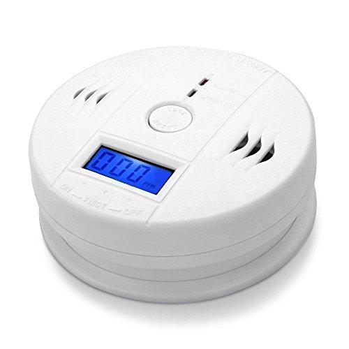 LCD CO Carbon Monoxide Poisoning Sensor Alarm Warning Detector Tester