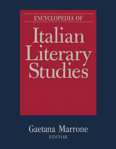 Download Encyclopedia of Italian Literary Studies Pdf