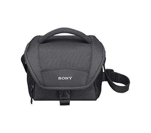 Sony LCSU11 Soft Compact Carrying Case for Cyber-Shot Cameras (Black) (Camera Cases For Sony Cybershot)