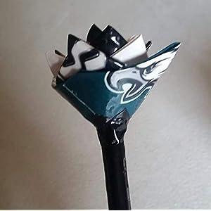Philadelphia Eagles NFL Duct Tape Flower 118