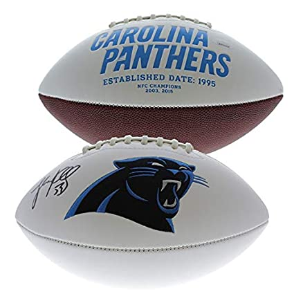 Luke Kuechly Autographed Signed Carolina Panthers Football Ball Jsa Coa Sports Mem, Cards & Fan Shop
