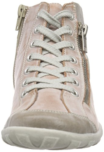 Baskets Rosa 31 Steel Rose Grey Hautes Femme Remonte R3474 CY5qxwP81