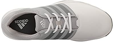 adidas Men's 360 Traxion Ftwwht/Dksimt Golf Shoe
