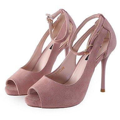 US6 Confort 5 4A Informal 5 Nubuck Mujeres'S Rubor RTRY Las 4 Shoes 4 Confort Wedding UK4 De Primavera Negro Verano 5 CN37 Rosa 3 Pulg Cuero 7 EU37 xRIFwZFn