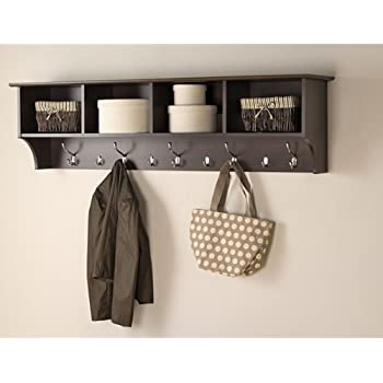 Amazoncom Prepac 60 Wide Hanging Entryway Shelf 60 Inches