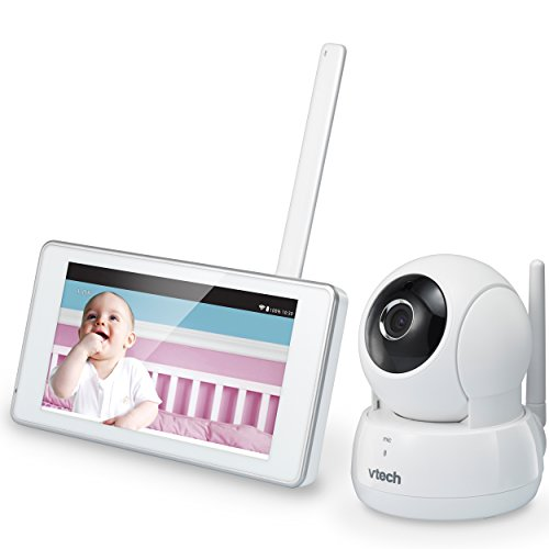 VTech VM991 Wireless WiFi Video Baby Monitor with Remote Access App, 5-inch Touch Screen, Remote Access Pan, Tilt & Zoom, Motion Alerts & Support for up to 10 Cameras by VTech (Image #11)