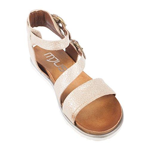 EDDY DANIELE Zapatos Mujer 37 Sandalias Amarillo Gamuza AW321/AW322 ipl0hLDw80