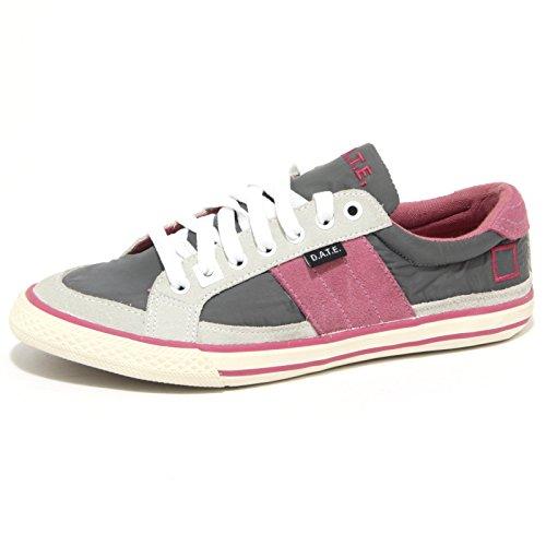 Grey cipria 0818o Donna Woman Sneakers Shoes a t fuxia D e Hill Grigio qw80AxWO
