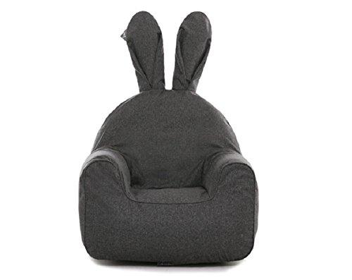 Rabito Infant Kids Children Sofa Chair Small Cream White )